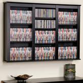 Darby Home Co Triple Media Multimedia Wall Mounted Storage Rack
