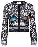 Peter Pilotto Embroidered Lace Jacket