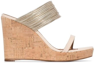 Aquazzura Rendez Vous 105mm wedge sandals