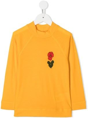 Mini Rodini Floral-Print Sweatshirt
