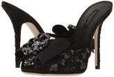 Dolce & Gabbana Lace Bow 105mm Slide High Heels