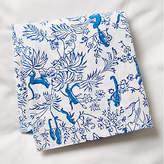 Roller Rabbit for One Kings Lane Charlie Fitted Crib Sheet - Bright Blue