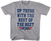 Top Gun Gray Heather 'Up There' Tee - Toddler & Boys