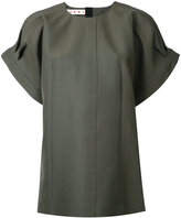 Marni structured sleeve blouse