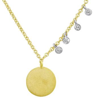Meira T 14K. Diamond Necklace