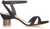 Sophia Webster Belle crystal-embellished suede sandals