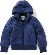 Class Club Little Boys 2T-7 Quilted Bomber Jacket