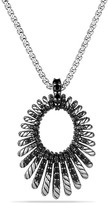 David Yurman Tempo Necklace with Black Spinel