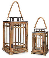 Southern Living Wooden Lantern
