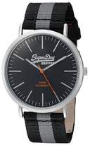Superdry Men's SYG183BE Oxford Analog Display Quartz Watch