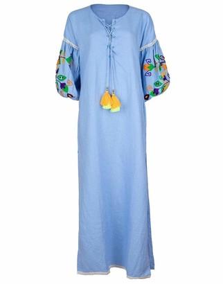Sensi Side Slit Maxi Dress
