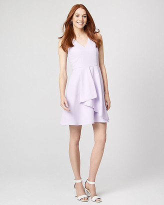 Le Château Crepe V-Neck Dress
