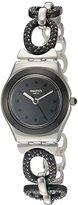 Swatch Women's YSS293G Analog Display Quartz Two Tone Watch