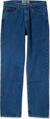 Wrangler Authentics Men's Big & Tall Relaxed Fit Jean Dark Rinse 44W X 30L