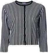 Tomas Maier striped button down cardigan