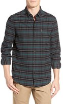 Ben Sherman Men's Mod Fit Prince Of Wales Plaid Flannel Shirt
