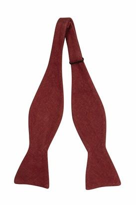 Notch Men's Linen Self-tie Bow Tie - Solid