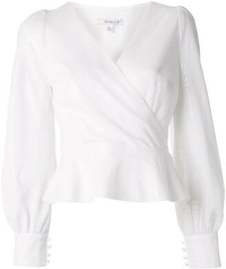 Olivia Rubin Catie sequin blouse