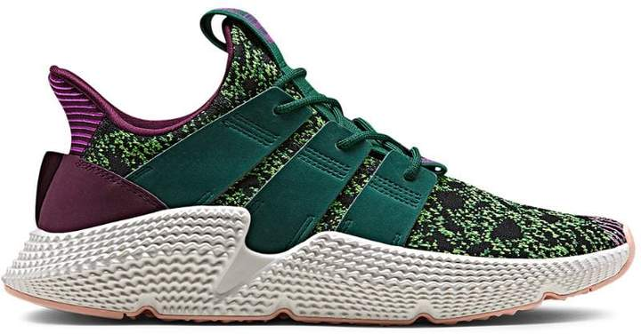 adidas green and purple prophere dragon ball z cell edition sneakers