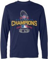 LDMH Men's Chicago Cubs 2016 World Series Champions Long Sleeve T Shirt
