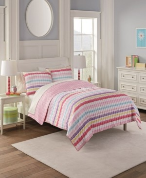Waverly Kids Froot Loops Full Quilt Set, 3 Piece Bedding