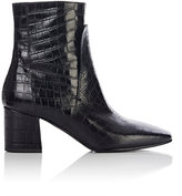 Givenchy Women's Side-Zip Ankle Boots-BLACK