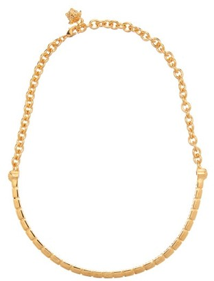 Versace Greca Choker - Gold