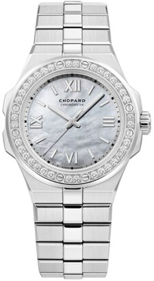Chopard Diamond and Stainless Steel Alpine Eagle Watch 36mm