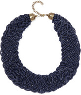 Kenneth Jay Lane Beaded Gold-Tone Necklace