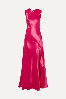 Philosophy di Lorenzo Serafini Hammered-satin Gown