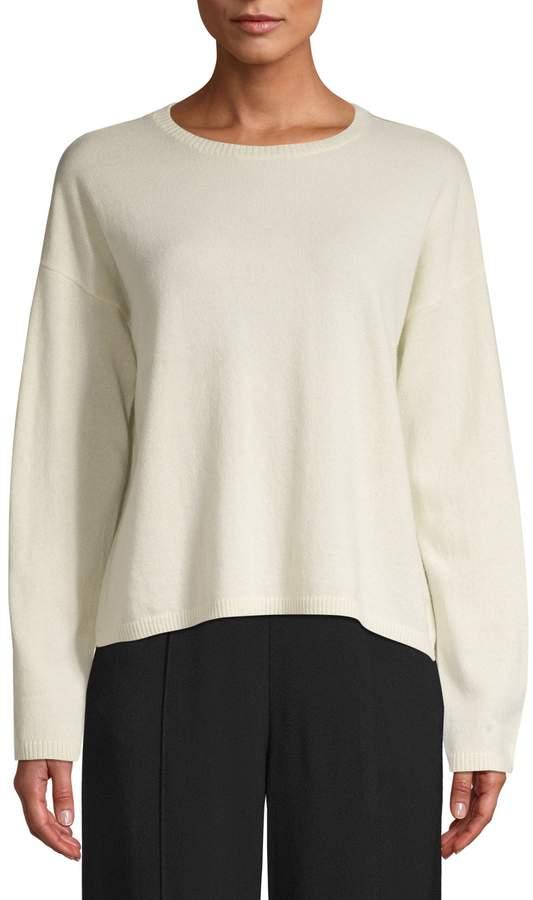 Eileen Fisher Crewneck Cashmere Sweater