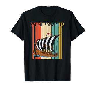 Viking Ship Shirts Gifts Vintage Viking Ship Shirt - Viking Ship Gift T-Shirt