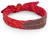 Deepa Gurnani Embellished & Printed Headband