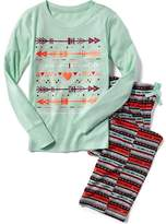 Old Navy 2-Piece Graphic Sleep Set for Girls