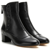 Tabitha Simmons Franny Leather Ankle Boots