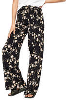 Miss Selfridge Oriental Wide Leg Trousers, Multi