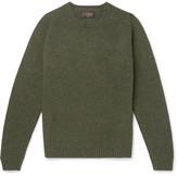 Beams Mélange Wool Sweater