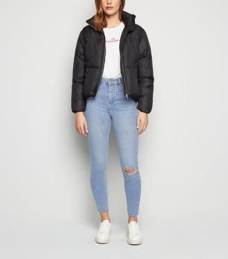 New Look Ripped Knee Hallie Super Skinny Jeans