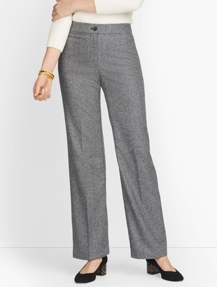 Talbots Luxe Donegal Wide Leg Pants