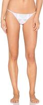 Mara Hoffman Spaghetti Side Bikini Bottom