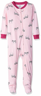 Amazon Essentials Baby Zip-Front Footed Sleeper