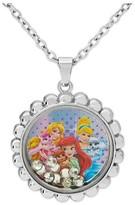 Disney Girls' Pendant Necklace- Multicolor