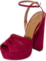 Aquazzura Mira Plateau Sandals
