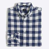 J.Crew Factory Slim linen shirt in plaid