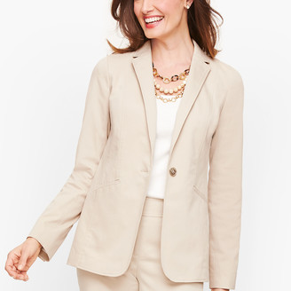 Talbots Monterey Single Button Blazer
