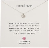 Dogeared Animal Lover, Heart with Paw Necklace Necklace
