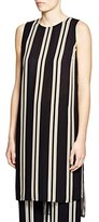 Vince Camuto Women's S/L Bohemian Stripe Long Tunic