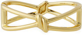 Lydell NYC Golden Knot Hinged Bracelet