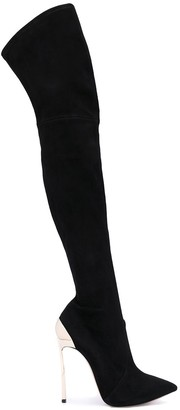 Casadei Techno Blade thigh-length boots