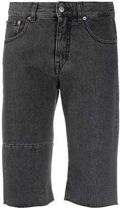 MM6 MAISON MARGIELA Knee-Length Denim Shorts